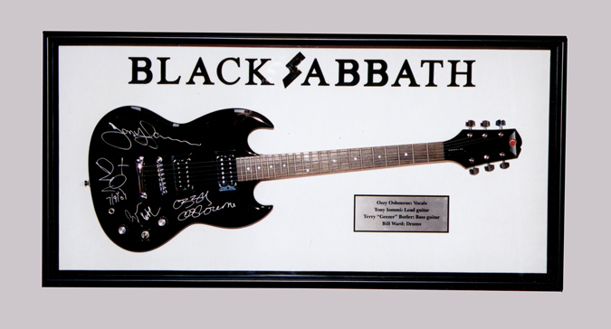 Picture of Black Sabbath Guitar