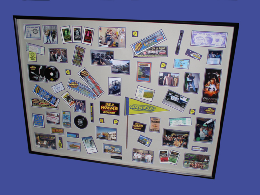picture of WMMR Promotions Shadow-box