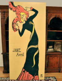 Image of Jane Avril Poster