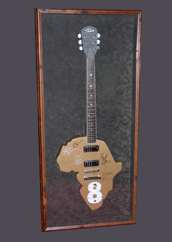 Picture of Live 8 Guitar Shadowbox